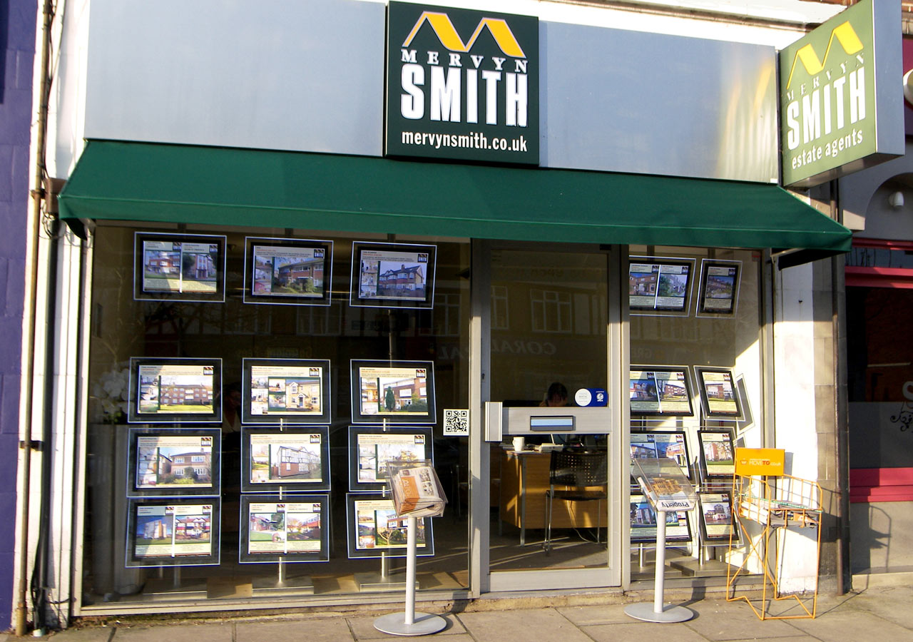 Mervyn Smith Estate Agents and Valuers office